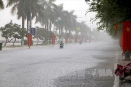 Xuất hiện vùng mây đối lưu gây mưa dông tại khu vực Hà Nội