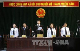 Đại án OceanBank: Hội đồng xét xử đảm bảo quyền con người của các bị cáo