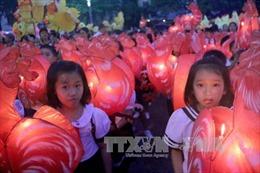 Độc đáo Lễ hội rước đèn Trung thu lớn nhất Việt Nam