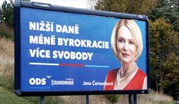 Bầu cử Séc: Các đảng đều tung cương lĩnh lấy lòng cử tri