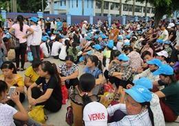 6.000 công nhân Công ty Giầy Vennus trở lại làm việc sau 2 ngày nghỉ việc tập thể