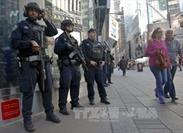 Mỹ cáo buộc 3 nghi can IS âm mưu đánh bom New York