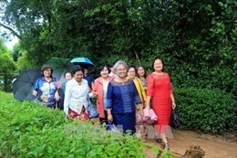 Đoàn cựu giáo viên kiều bào tại Thái Lan về thăm quê Bác