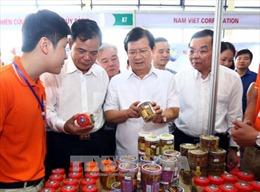 Phó Thủ tướng Trịnh Đình Dũng thăm Hội chợ Cá tra và các sản phẩm thủy sản Việt Nam