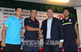Đội tuyển Việt Nam sẵn sàng cho trận đấu gặp Campuchia