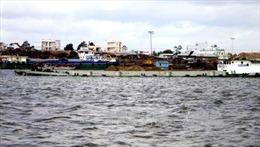Cần Thơ ngập nặng do mực nước trên sông Hậu vượt báo động 3