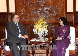 Phó Chủ tịch nước Đặng Thị Ngọc Thịnh tiếp Đại sứ Phần Lan