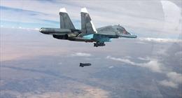 24 giờ, Nga dồn dập không kích IS ở Syria 182 lần