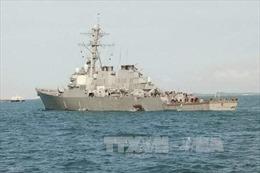 Thêm hai chỉ huy cấp cao bị cách chức sau vụ va chạm tàu khu trục Mỹ