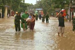 Nhiều địa phương Thanh Hóa tiếp tục cho học sinh nghỉ học do mưa lũ