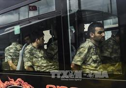 Thổ Nhĩ Kỳ phát lệnh bắt giữ 25 binh sĩ liên quan vụ đảo chính năm 2016
