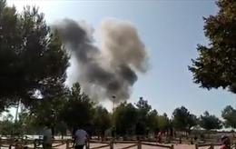 Máy bay quân sự Tây Ban Nha gặp nạn sau màn biểu diễn mừng Quốc khánh