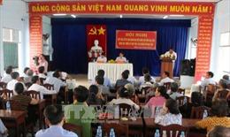 Lắng nghe kiến nghị của cử tri trước kỳ họp Quốc hội