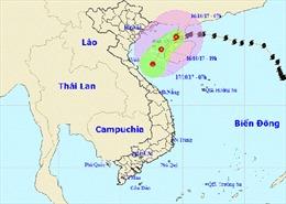 Bão số 11 dần suy yếu thành áp thấp nhiệt đới