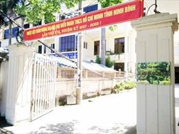 Kỷ luật cảnh cáo Giám đốc Sở Khoa học và Công nghệ tỉnh Ninh Bình