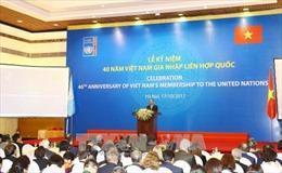 Hợp tác hiệu quả với Liên Hợp quốc luôn chính sách đối ngoại hàng đầu của Việt Nam