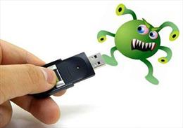 15 triệu máy tính nhiễm virus phần lớn do USB