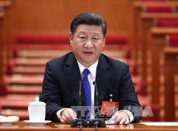Tổng Bí thư, Chủ tịch Trung Quốc Tập Cận Bình đọc báo cáo chính trị trình Đại hội XIX