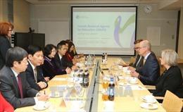 Việt Nam - Phần Lan mong muốn hợp tác về giáo dục, thương mại và đầu tư