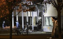 Nổ lớn tại một trụ sở cảnh sát ở miền tây Thụy Điển