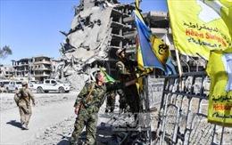 Thành phố Raqqa được giải phóng khỏi IS