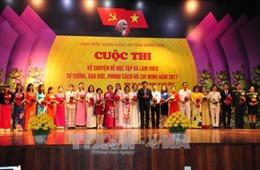 Thi kể chuyện làm theo tư tưởng, đạo đức, phong cách Hồ Chí Minh