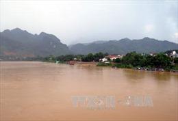 Mực nước các sông ở Quảng Ngãi, Bình Định lên nhanh