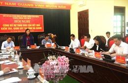Công bố dự thảo báo cáo kết quả kiểm tra, giám sát phòng, chống tham nhũng tại Hà Giang