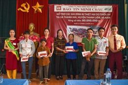 Bảo Tín Minh Châu hỗ trợ vùng lũ Hà Nam và Thanh Hóa