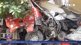 Tai nạn liên hoàn trên quốc lộ 6