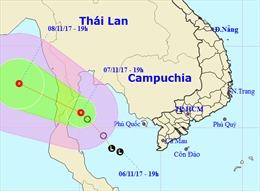 Chủ động ứng phó với áp thấp nhiệt đới, gió mạnh trên biển và mưa lớn