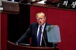 Thông điệp cứng rắn của Tổng thống Trump tới Triều Tiên: 'Đừng thử thách chúng tôi'