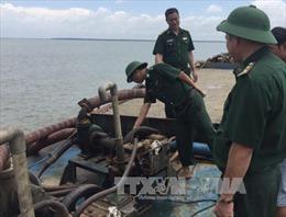 Ngăn chặn triệt để khai thác cát trái phép trên vùng biển Cần Giờ