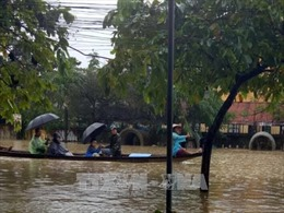 Lãnh đạo các nước gửi điện thăm hỏi về thiệt hại do bão số 12 gây ra