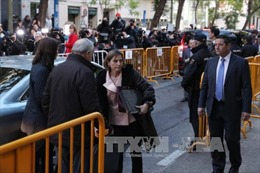 Tây Ban Nha bắt Chủ tịch Hội đồng lập pháp Catalonia