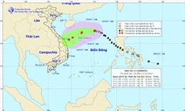 Bão số 13 chuyển sang hướng Tây, Bắc Bộ có nơi dưới 18 độ, Nam Bộ mưa dông