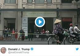 Tổng thống Trump tung video ấn tượng tổng kết chuyến công du châu Á