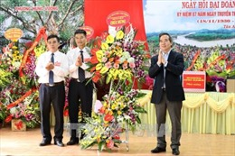 Trưởng ban Kinh tế Trung ương dự Ngày hội đại đoàn kết toàn dân tộc tại Phú Thọ