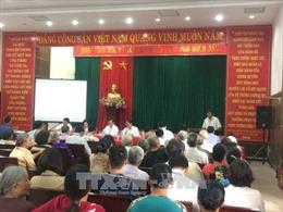 Hà Nội đối thoại với người dân về dự án cải tạo, xây dựng nghĩa trang Bãi Xém