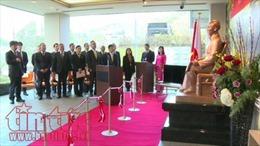 Tượng Bác Hồ đầu tiên được đặt tại Nhật Bản