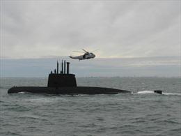 Hải quân Mỹ có thể đã định vị được tàu ngầm Argentina mất tích