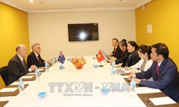 Chủ tịch Quốc hội Nguyễn Thị Kim Ngân tiếp Chủ tịch Hội hữu nghị Australia - Việt Nam
