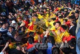 Năm nay sẽ thay đổi cách thức cướp lộc tại lễ hội Gióng đền Sóc