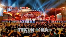 Cầu truyền hình 'Bản hùng ca mùa xuân: Chân Trần - Chí Thép'