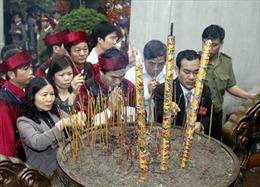 """""""Tín ngưỡng thờ cúng Hùng Vương ở Phú Thọ"""" chuẩn bị được trình UNESCO"""