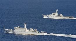 Nhiều tàu Trung Quốc tiến vào vùng biển Nhật Bản