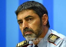 Cựu cảnh sát trưởng Catalonia bị buộc tội nổi loạn