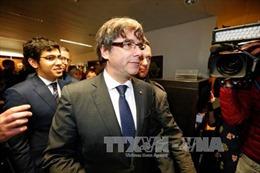 Cựu Thủ hiến Catalonia phải trình diện tại tòa án Bỉ vào ngày 17/11 tới