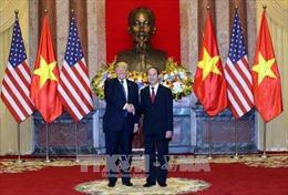 Tổng thống Mỹ Donald Trump kết thúc tốt đẹp chuyến thăm Việt Nam