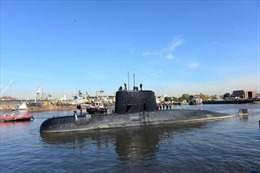 Vật thể mới phát hiện không phải của tàu ngầm Argentina mất tích